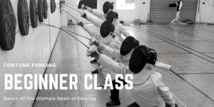 Beginner Fencing-class-arcadia-monrovia-pasadena