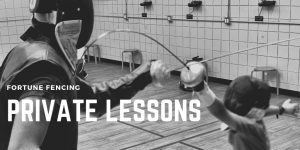 private lessons FENCING