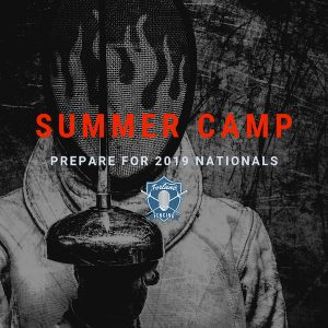Summer Nationals fencing camp