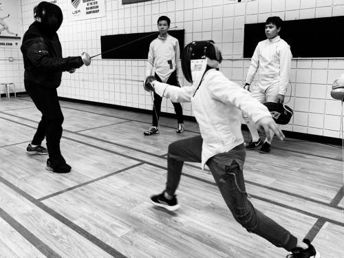 Fencing Tactical Class